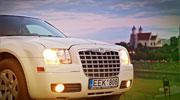 Šampanino spalvos Chrysler Vilniuje nuomai