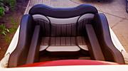 Cadillac Escalade prabangus salonas