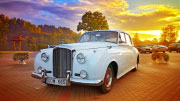 1957 metų Baltas Bentley vestuvėms.