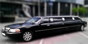 VIP LIMUZINAS | 10 vietų | Juodas Klasikinis