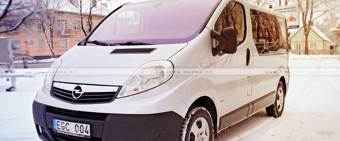 Mikroautobusų nuoma Šiauliuose
