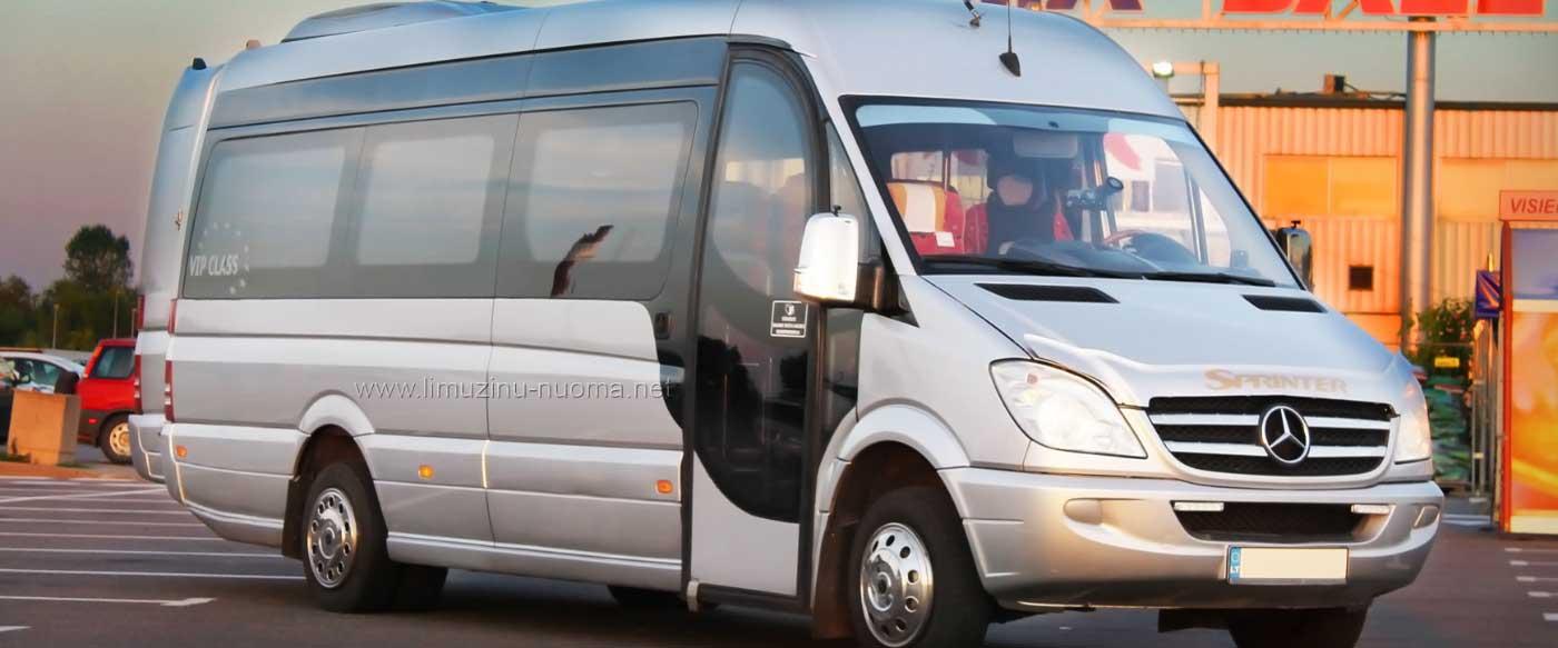 Mikroautobusų Nuoma Vilniuje