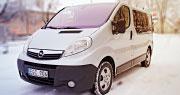 Opel Vivaro Be Vairuotojo | 8+1 vietų Šiauliai