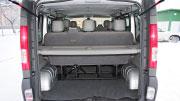 Talpi ir erdvi Opel Vivaro bagažinė