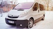 Mikroautobusas Šiauliuose be vairuotojo