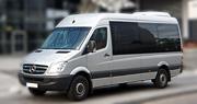 16 vietų mikroautobuso nuoma | MB Sprinter