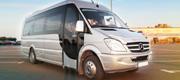 Sidabrinis 20 vietų mikroautobusas Vilniuje