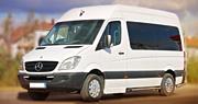 Vilniuje mikroautobusų nuoma vestuvėms Baltas